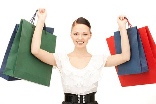Женщина, покупки