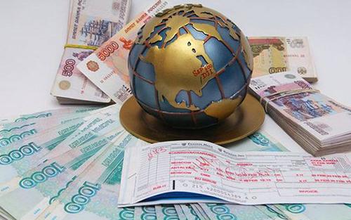 Глобус, деньги