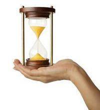 Песочные часы, рука