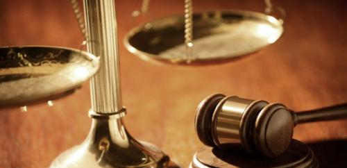 Судейский молоток, весы
