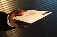 Письмо, рука