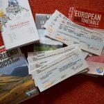 ЖД билеты, книги