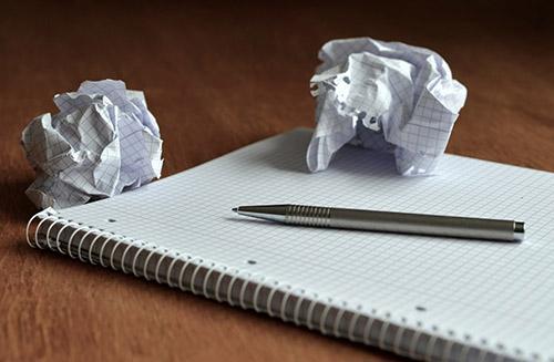 Блокнот, ручка
