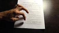 Документ, рука