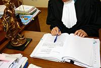 Судья, документы, весы