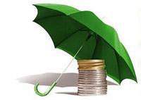 Деньги, зонт