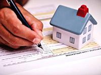 Дом, документ, ручка, рука