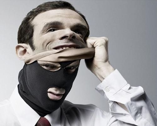 Мужчина, маска