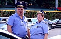Полицейские, автомобили
