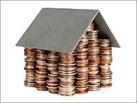 Монеты, крыша, дом