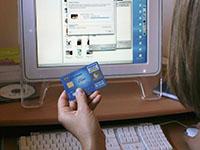 Компьютер, банковская карта