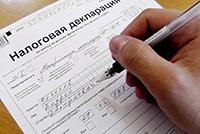 Налоговая декларация, ручка