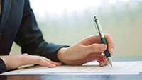 Ручка, документы
