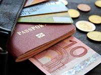 Деньги, документы, карты