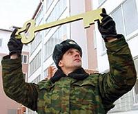 Военнослужащий с ключом