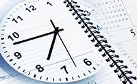 Часы, календарь