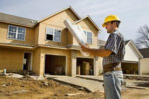 строитель, план, дом