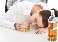 Употребление алкоголя на работе