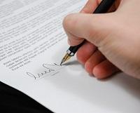 Подпись заключения