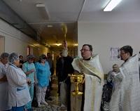 Священнослужитель в больнице